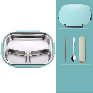 Leakproof Japanese Style Stainless Steel Lunch Bento Box