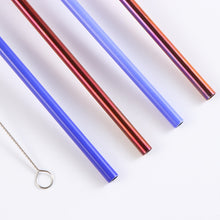 Load image into Gallery viewer, Stainless Steel Color Changing Straw