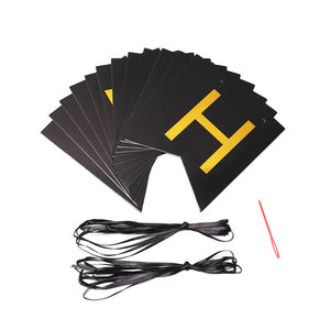 Photo Booth Props Gold Black Bunting Banner