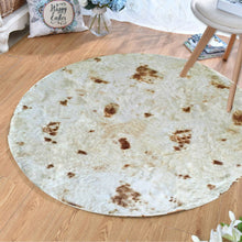 Load image into Gallery viewer, Comfort Food Creations Pizza Tortilla Wrap Blanket