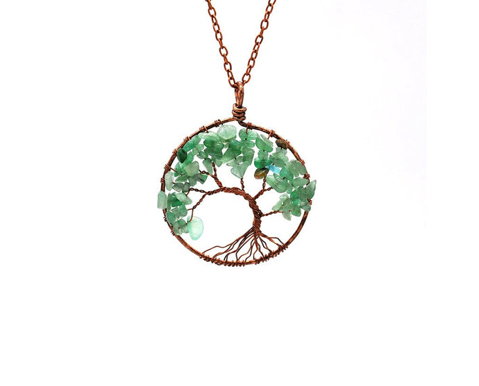 Tree of Life Banyan Pendant Necklace