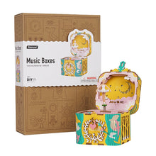 Load image into Gallery viewer, 3D Wooden Puzzle DIY Music Box Kit: Dancing Ballerina
