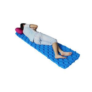 Outdoor inflatable cushion