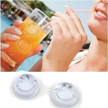 Load image into Gallery viewer, Smiling Face Smile Happy Ice Tray Ice Cubes DIY Mould Pudding Jelly Mold (referred To Water)