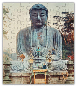 Buddha Temple Puzzle