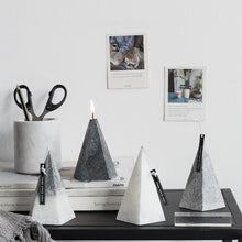 Load image into Gallery viewer, Aromatherapy Candle Iceberg Tabletop Pyramid
