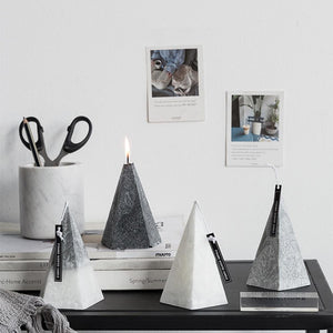 Aromatherapy Candle Iceberg Tabletop Pyramid