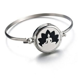 Aromatherapy Stainless Steel Pineapple Bracelet