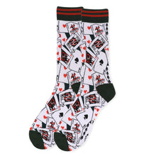 Load image into Gallery viewer, Men's Playing Card Socks