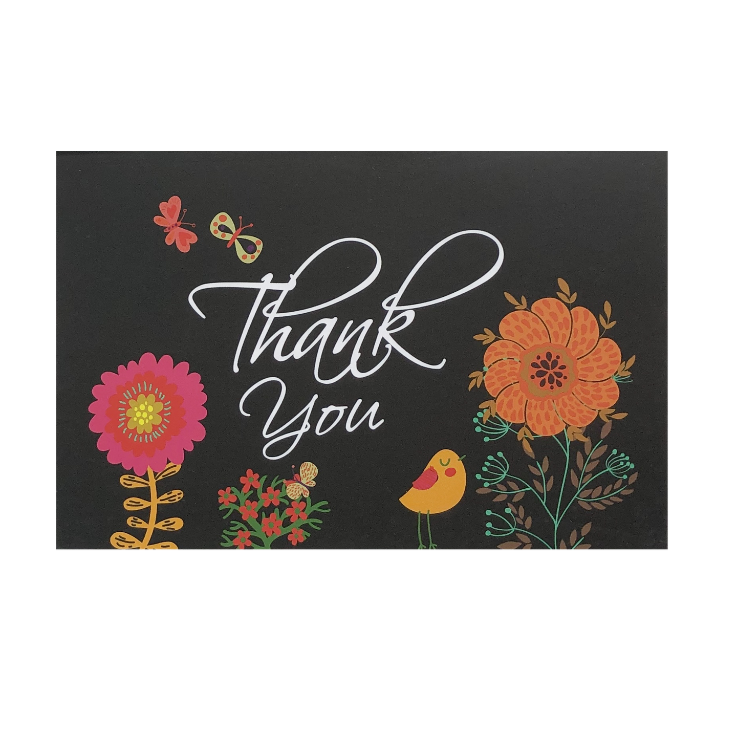 'Bright Bouquet' Thank You Card