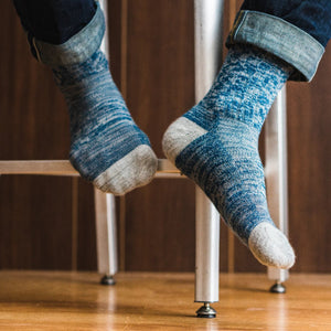 Acadia Lightweight Merino Wool Socks Spacedye