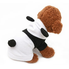 Load image into Gallery viewer, Small Pet Panda Costume