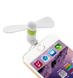 Dual Adapter Smartphone Fan (Single)