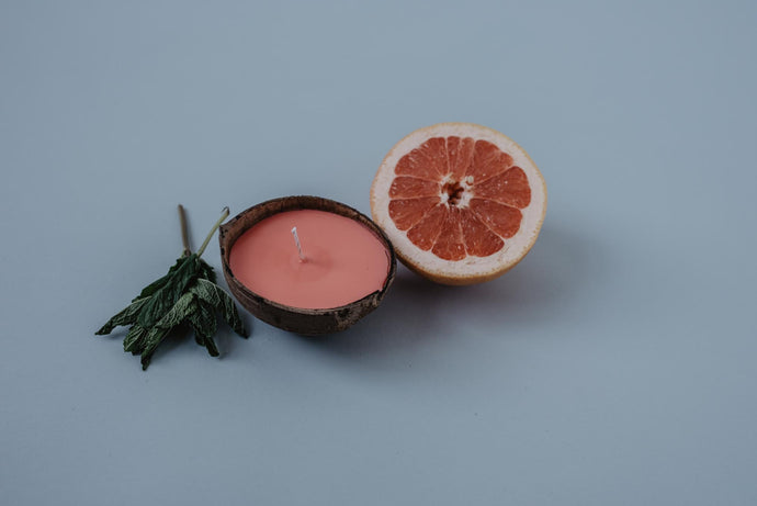 No. 6 | Grapefruit & Mint Candle