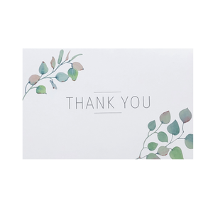 'Dual Branch' Thank You Card