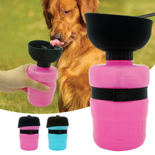 Load image into Gallery viewer, On-the-go Pet Water Bottle and Dispenser