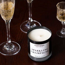 Load image into Gallery viewer, Sparkling Champagne Scented Soy Wax Candle