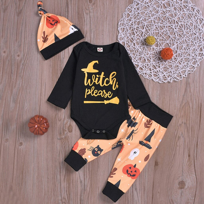 Infant & Toddler Witch Please Onsie Set