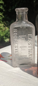 4oz Eastman Rochester antique glass bottle photo developing