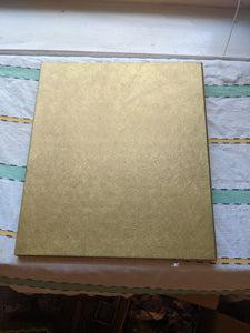 Vintage gold Halmark Photograph Album with blank pages embossed Photograph Photos Word Design