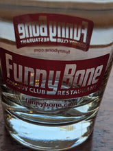 Load image into Gallery viewer, Funny Bone Comedy Club Rocks drinking glass
