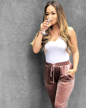 Load image into Gallery viewer, Brunch Velour Jogger Pants - Pick Color