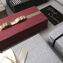 "Load image into Gallery viewer, LaRibbons ""Metallic Glitter"" Wrapping Paper Pack"