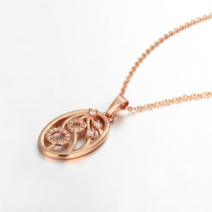 Adori Necklace in 18K Rose Gold Plated