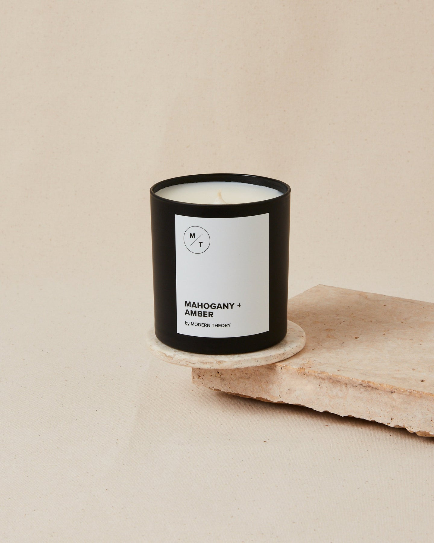 MAHOGANY + AMBER Modern Theory Hand-poured Coconut Wax Candle