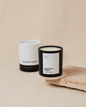 Load image into Gallery viewer, MAHOGANY + AMBER Modern Theory Hand-poured Coconut Wax Candle