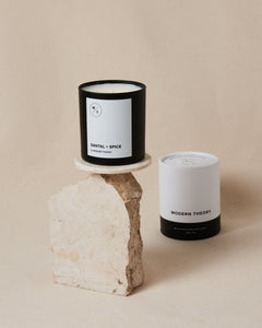 SANTAL + SPICE Modern Theory Hand-poured Coconut Wax Candle