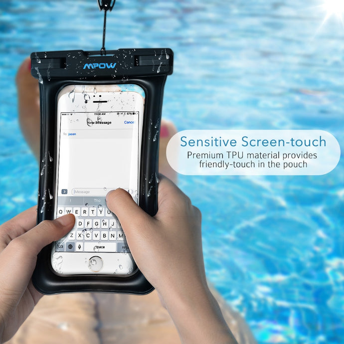 Waterproof Floatable Bag style case for cell phone iPhone