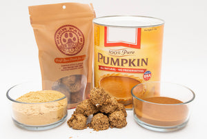 'Beer Paws' Pumpkin Spice Beer Biscuits Dog Treats
