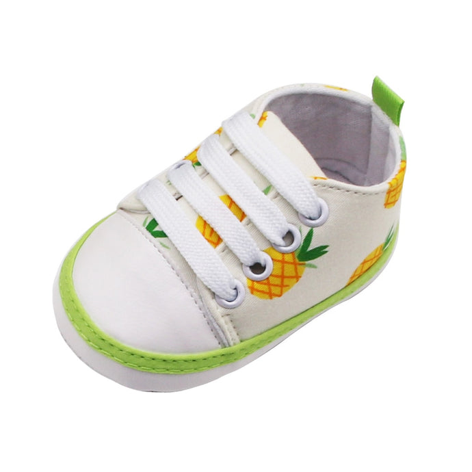 Pineapple Print Sneakers for Babies