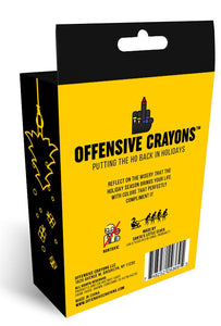 Holiday Edition Offensive Crayons