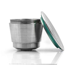 Load image into Gallery viewer, Stainless Steel Reusable Capsule Cup for Nespresso