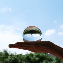 Load image into Gallery viewer, Crystal Ball Quartz Glass Transparent Ball