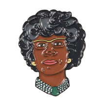 Load image into Gallery viewer, Shirley Chisholm Enamel Pin