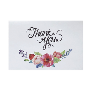 'Pinks Below' Thank You Card