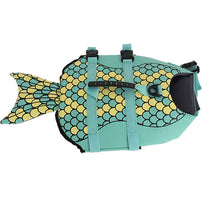 Load image into Gallery viewer, Aquatic Life Jacket For Dog- Shark, Mermaid, Fish