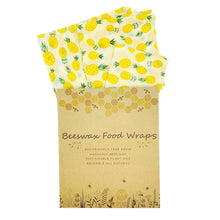 Load image into Gallery viewer, Reusable Beeswax Food Wraps