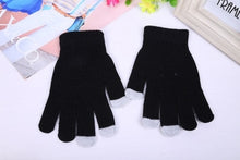 Load image into Gallery viewer, Women's Cashmere Knitted Winter Gloves