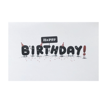 Load image into Gallery viewer, Happy Birthday 'Sign' Card