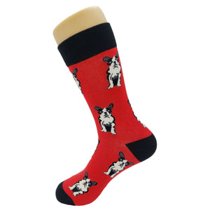 Simple French Bulldog Socks