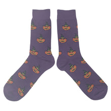Load image into Gallery viewer, Witch Pumpkin Socks