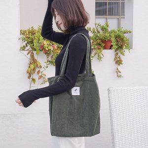Corduroy Reusable Bag