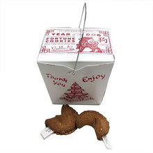 Load image into Gallery viewer, Dog Fortune Cookies in Takeout Box