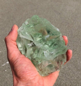 Green Fluorite Natural Crystal