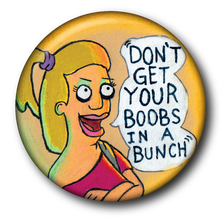 Load image into Gallery viewer, Tammy from Bob's Burgers Magenet or Button