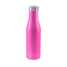 Load image into Gallery viewer, DRINCO® 17oz Stainless Steel Slim Water Bottle - Island Pink